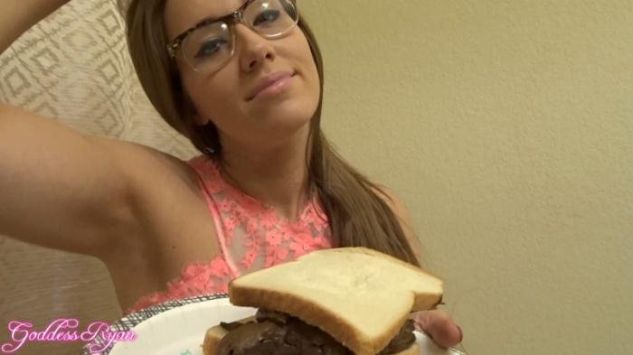 Eat My Spit and Shit Sandwich FullHD 1080p (Goddess Ryan /  2018) 790 MB