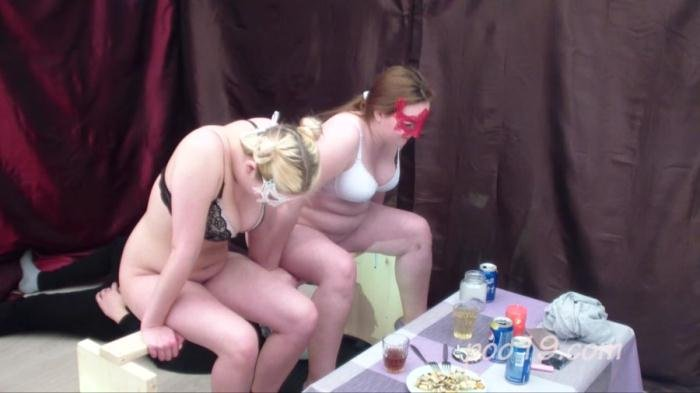 Toilet slave quickly swallows shit of two girls HD 720p (Smelly Milana /  2018) 1.01 GB