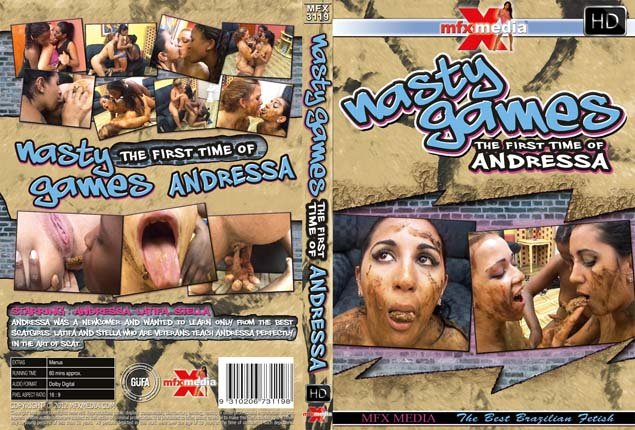 MFX-3119 - Nasty Games - 1st Time of Andressa SD (Andressa, Latifa, Stella /  2018) 388 MB