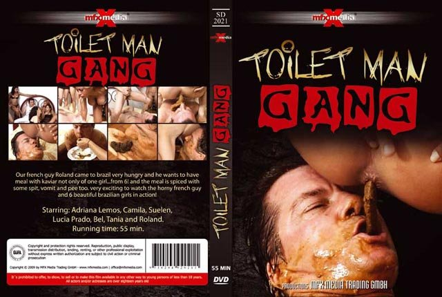 [SD-2021] - Toilet Man Gang SD (Adriana, Camila, Suelen, Lucia, Bel, Tania and Roland /  2018) 578 MB