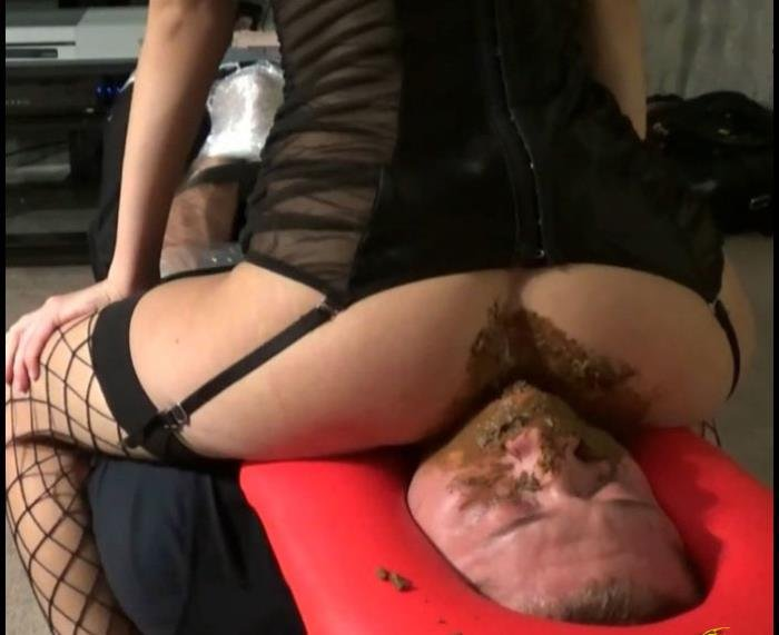 Femdom asian mistress force her slave eat shit pics