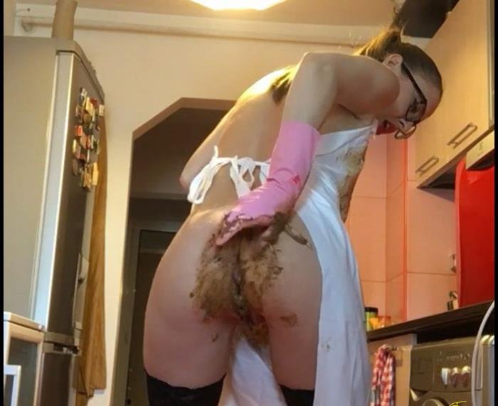 Ella Gilbert Rubber gloves and PVC apron HD 720p (CandieCane /  2018) 442 MB
