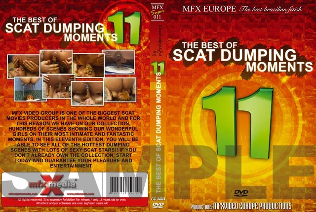 MFX-S011 - The Best of Scat Dumping Moments 11 DVDRip (Agata Ventury, Michele Santos, Jessica, Dyana /  2018) 1.50 GB