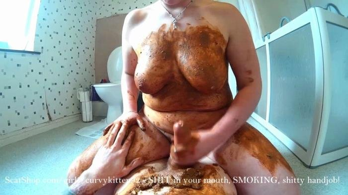 Real Scat SHIT in your mouth, SMOKING, shitty handjob FullHD 1080p ...