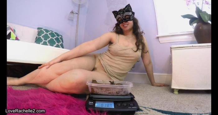 Weighing and Licking My Shit Log 4K UltraHD (LoveRachelle2 /  2018) 1.14 GB