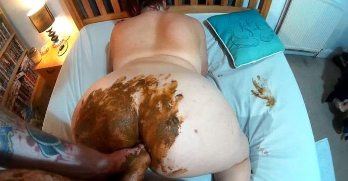 Real Scat Sore tummy ends in SHIT fuck fest FullHD 1080p ...