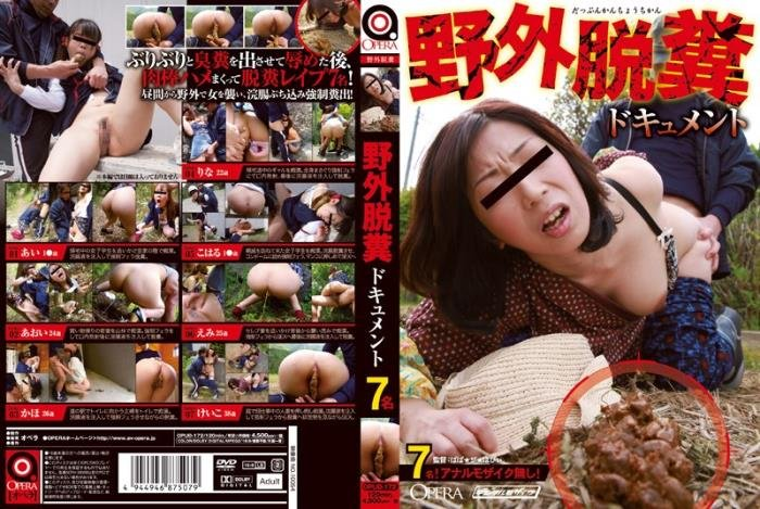 Sex and defecation open-air. FullHD 1080p (スカトロ, 2019 /  2019) 3.65 GB