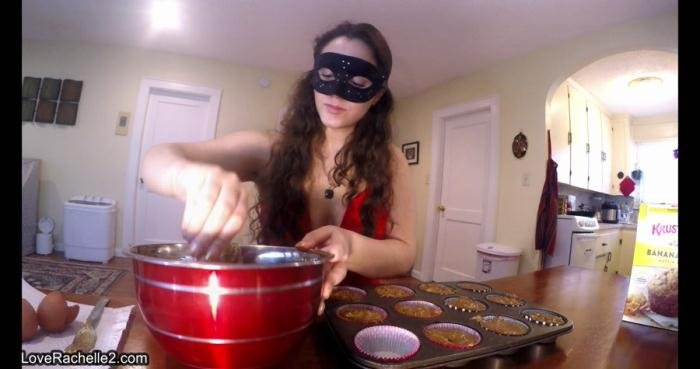 Slave Deserves A Treat! Baking Poop Muffins UltraHD 4K (LoveRachelle2 /  2019) 1.37 GB