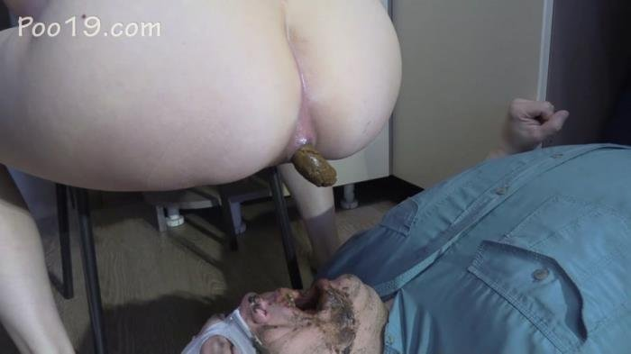Lick my feet and swallow my shit FullHD 1080p (MilanaSmelly /  2019) 1.58 GB