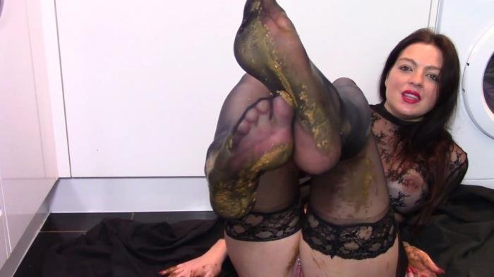 Leather Boot Scat Worship FullHD 1080p (evamarie88 /  2019) 1.49 GB
