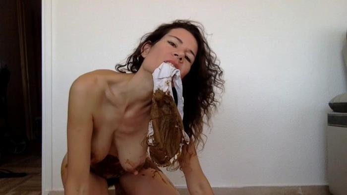 Pooping in my new white panty HD 720p (nastymarianne /  2019) 441 MB
