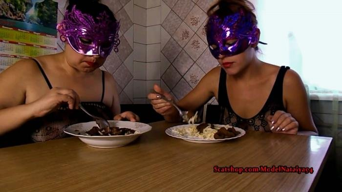 Our Breakfast pasta shit FullHD 1080p (ModelNatalya94 /  2019) 1.24 GB