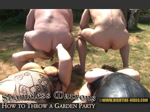 SHAMELESS MATRONS - HOW TO THROW A GARDEN PARTY HD 720p (Marilou, Linda, 2 males /  2019) 1.32 GB