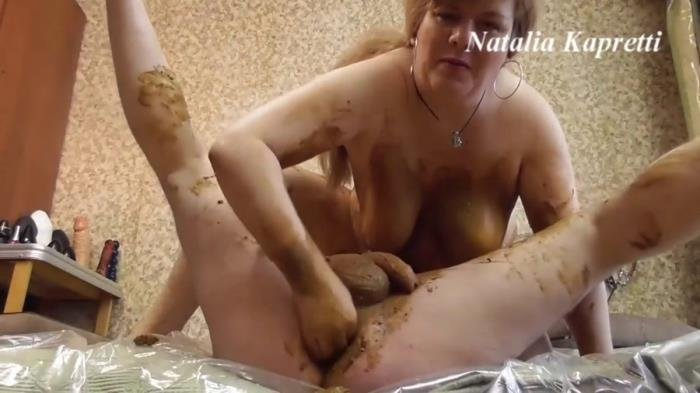 Scat sex in warm, soft, smelly shit FullHD 1080p (Amateur /  2020) 754 MB