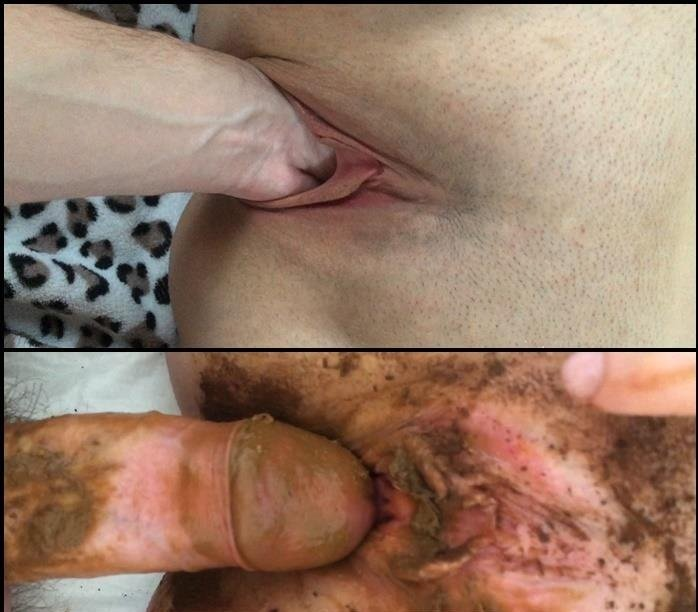 Scat Fuck Youngwildperverz Creampie Of Full Scat Pussy
