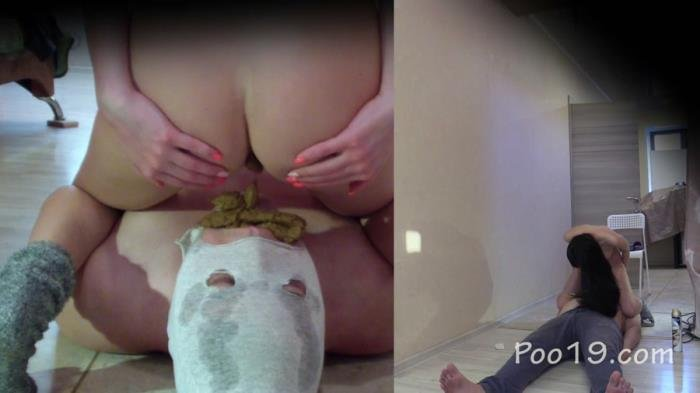 I cry with happiness to be Christina's toilet FullHD 1080p (MilanaSmelly /  2020) 597 MB