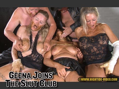GEENA JOINS THE SLUT CLUB HD 720p (Geena, Molly, Sexy, 2 males /  2020) 594 MB