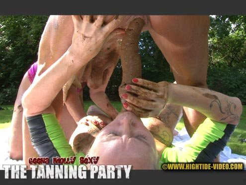 THE TANNING PARTY HD 720p (Geena, Molly, Sexy /  2020) 1.10 GB